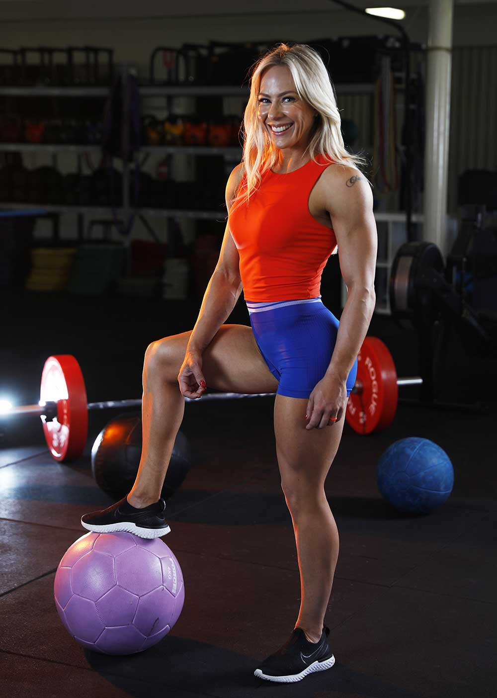 Personal trainer and health Coach Chantel